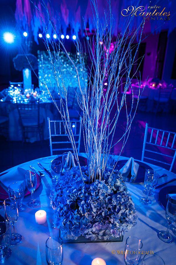 Fiestas de 15 a os decoraci n fiestas tem ticas for Adornos navidenos para xv anos