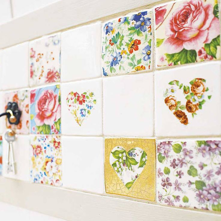 I Completely Love This Set Of Patchwork Tiles By Welbeck Tiles Notonthehighstreet Com