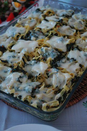 Kremalı Ispanaklı Makarna | Yemek Zevki