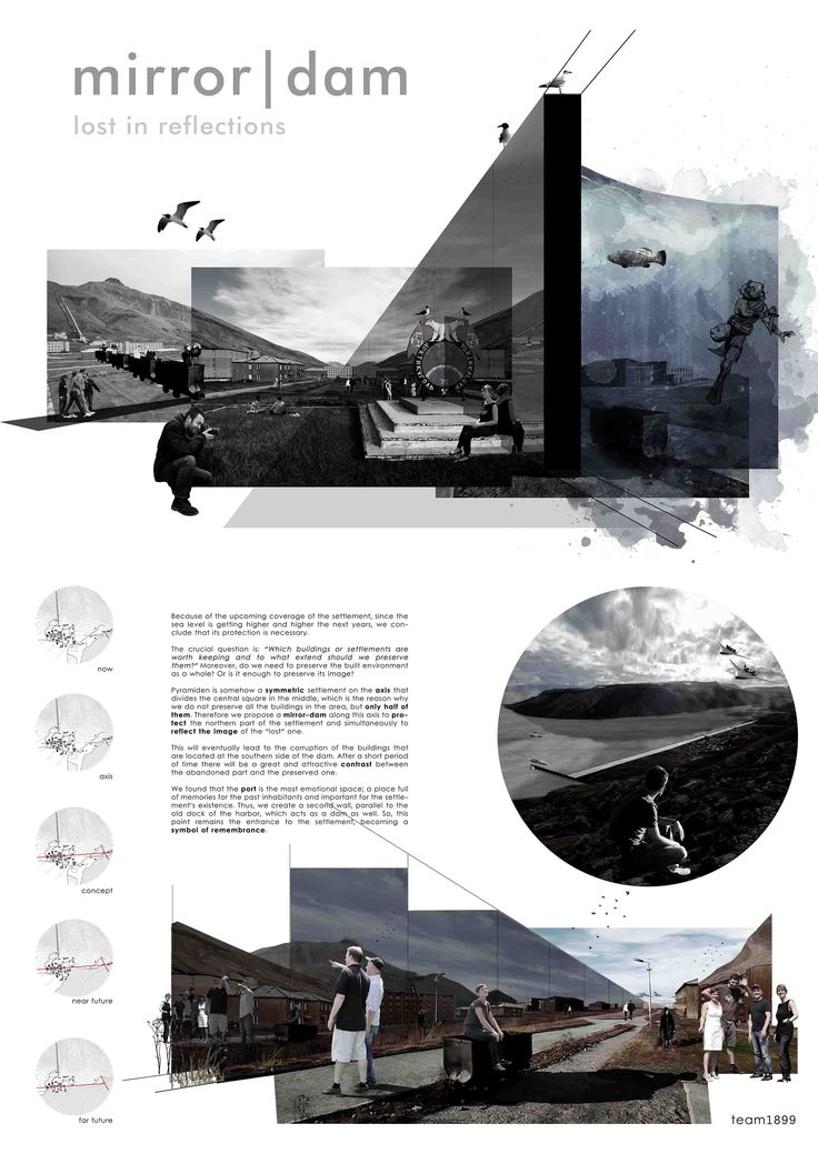 Mirror | Dam preservation proposal, 120hours architecture student competition