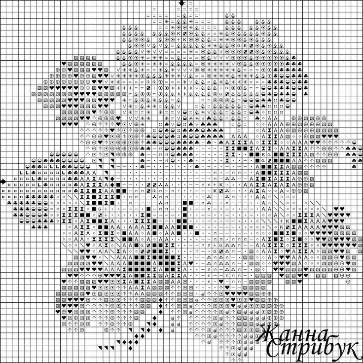 "Gallery.ru / Фото #37 - схемы вышивки ""Букетики"" - pustelga"