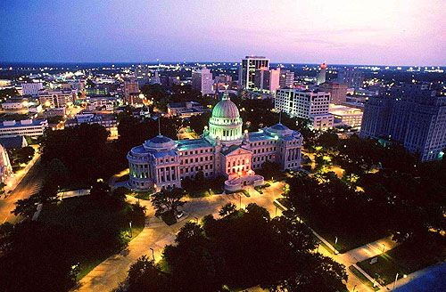 """Jackson, Mississippi ~ named after Andrew Jackson, general at the time of the victorious Battle of New Orleans, state capital, home of Eudora Welty, Pulitzer Prize-winning author, & setting for """"The Help""""."""