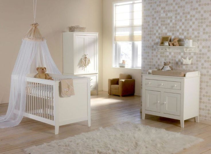 Brand new Europe Baby Montana by Kidsmill 3 piece Nursery furniture set in  White