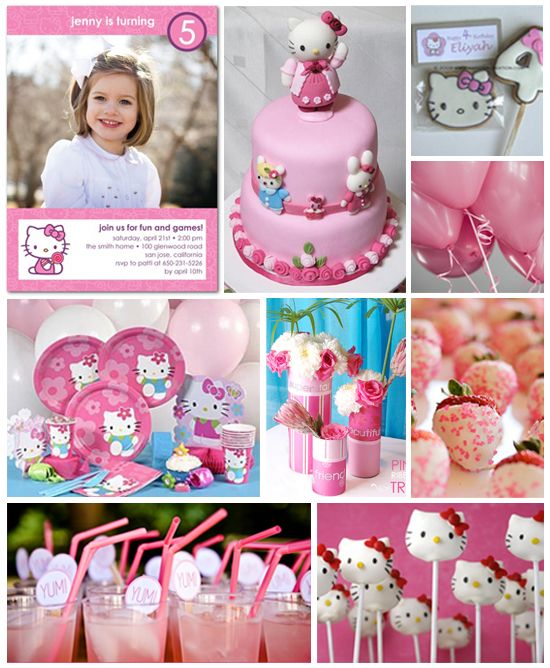 Hello Kitty birthday party