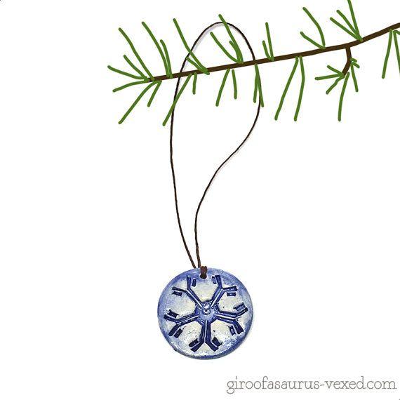 Christmas ornament Immunoglobulin M pentamer by theVexedMuddler