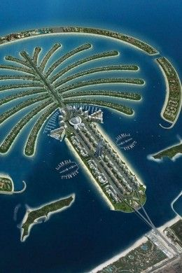 Palm Island | Top 10 Famous Islands for Vacation http://www.travelmagma.com/united-arab-emirates/things-to-do-in-dubai/