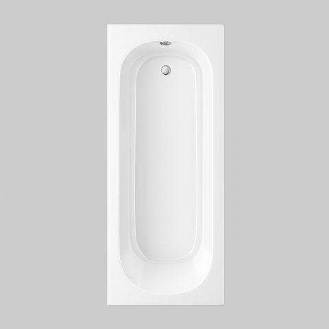 1700mm Round Single Ended Bath - soak.com