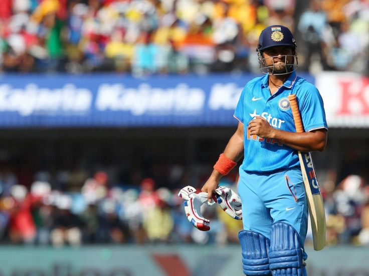 Suresh Raina Dismissal Indore