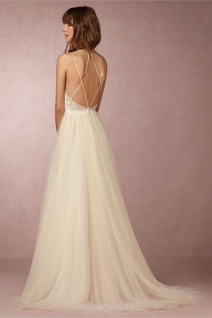 BHLDN Rosalind Gown in  Bride Wedding Dresses at BHLDN