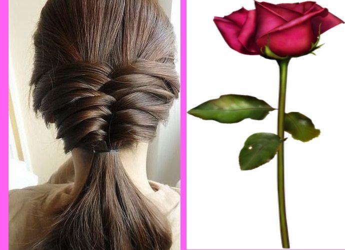 Peinados con trenzas largas   3 opciones chic   Mil Peinados