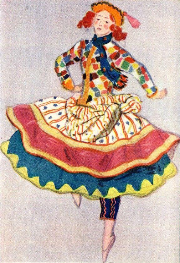 Картинки из балета петрушки