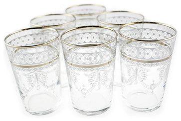 Berber Silver Tea Glasses mediterranean glassware