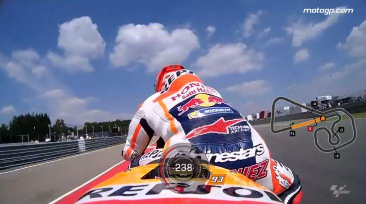 MotoGP - Vídeo: Recorde a pole de Marc Márquez em Sachsenring em 2016 - MotoSport - MotoSport