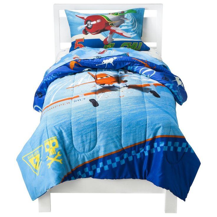Disney Planes Twin Comforter - Blue