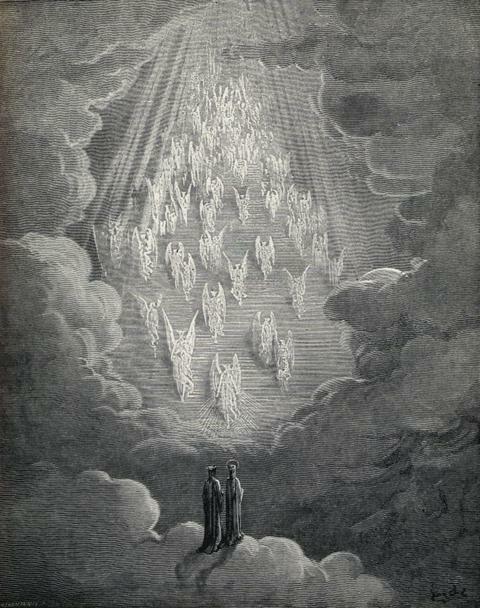 Paradiso - The Divine Comedy, Dante dore.artpassions.net: Gustave Dore