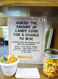 guessing game using candy corn for halloween or november great passive program miss michelle - Fun Halloween Games For Teenagers
