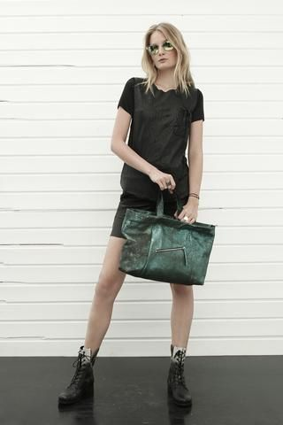 konsanszky_SS16_collection_LUNA leather shirt