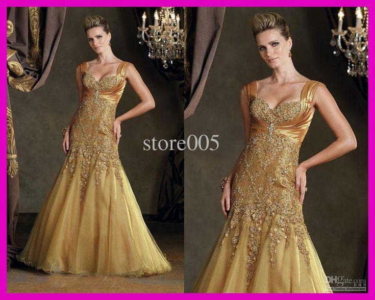 25+ Best Images About Gold Mother Of The Bride Dresses On