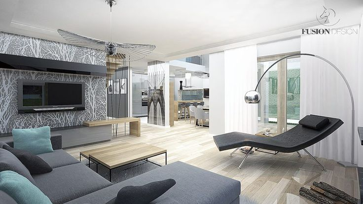 modern & scandi living room