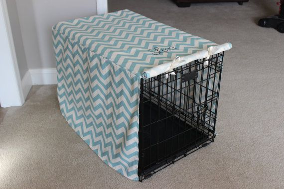 Custom Dog Kennel Cover--Perfect for Home, Dog Shows, or Agility Trials--Several Fabrics Available