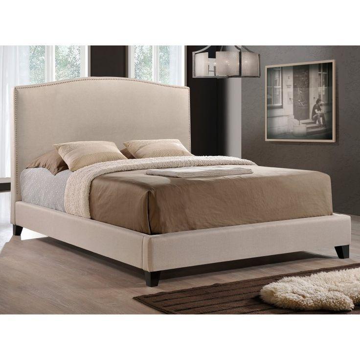 Baxton Studio Aisling Upholstered Platform Bed