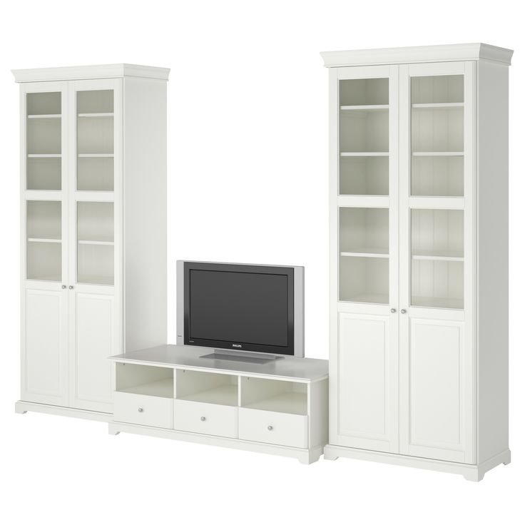 Best Liatorp Tv Storage Combination White 130 3 8X84 1 4 640 x 480