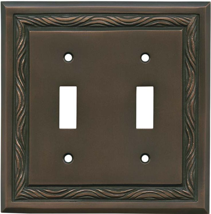 Arts And Crafts Outlet Cover Switchplate Cover
