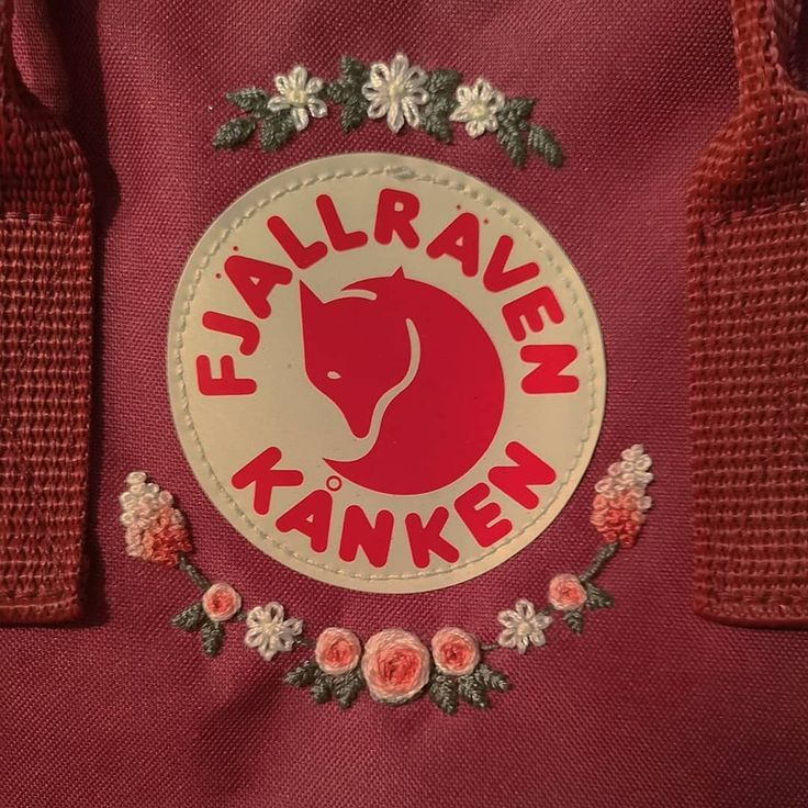 purchase cheap sale price reduced Fjällraven kanken stickerei #fjallraven #kanken #stickerei ...
