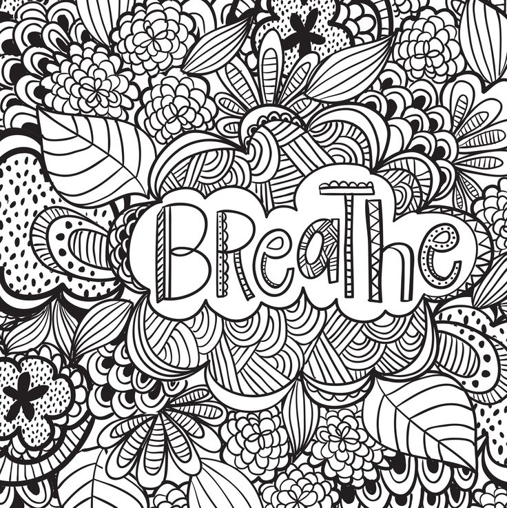 quote coloring pages adult coloring pages colouring pages free coloring coloring sheets coloring books stress take a breath doodle ideas