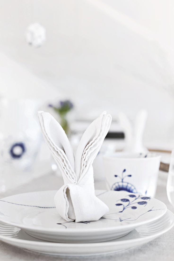 Stylizimo | DIY Easter bunny napkin