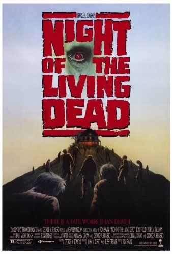 Night of the Living Dead POSTER Movie (27 x 40 Inches - 69cm x 102cm) (1990) @ niftywarehouse.com #NiftyWarehouse #NightOfTheLivingDead #Zombies #Horror #HorrorMovies #Movies #Zombie