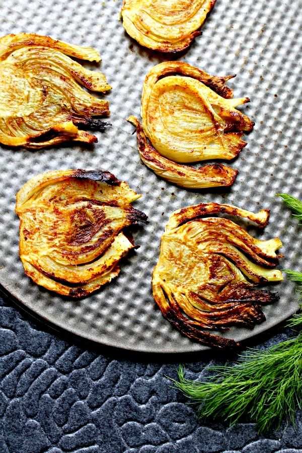 Roasted Curried Fennel - have never known what to do with fennel!  Gonna give this a try :)