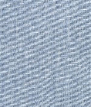 Denim Blue Chambray Linen Fabric