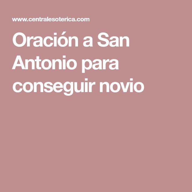 Oración a San Antonio para conseguir novio