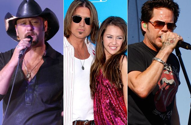 Tim McGraw Billy Ray Cyrus Gary Allan top 10 father daughter wedding songs tasteofcountry.com