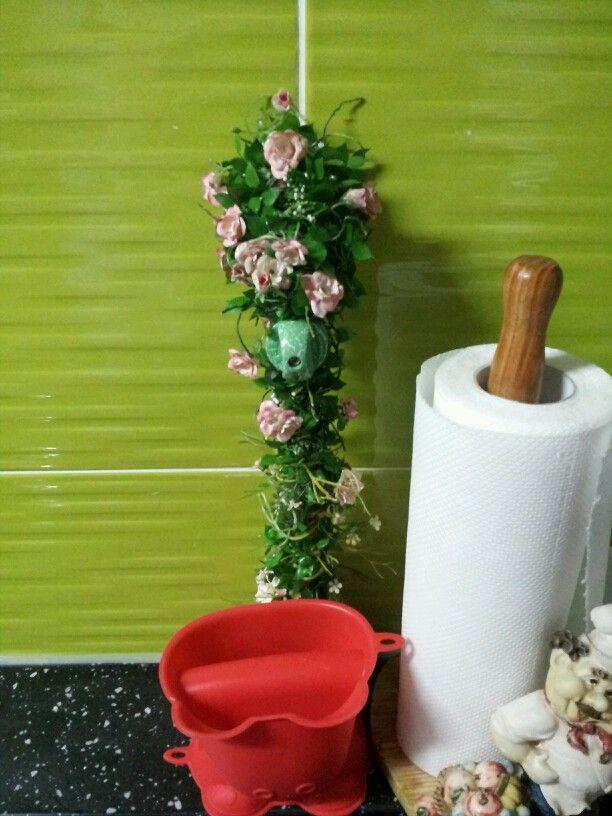 가스밸브에도 꽃을^^
