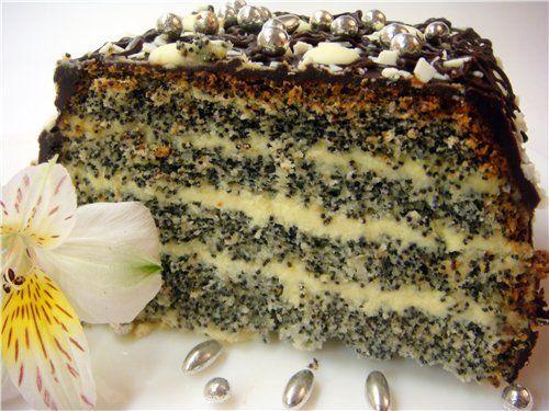 """Poppy seed cake """"Makovnik"""":"""