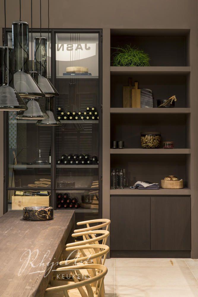 RhijnArt keuken op de stand van Stijlvol Wonen op de VT wonen