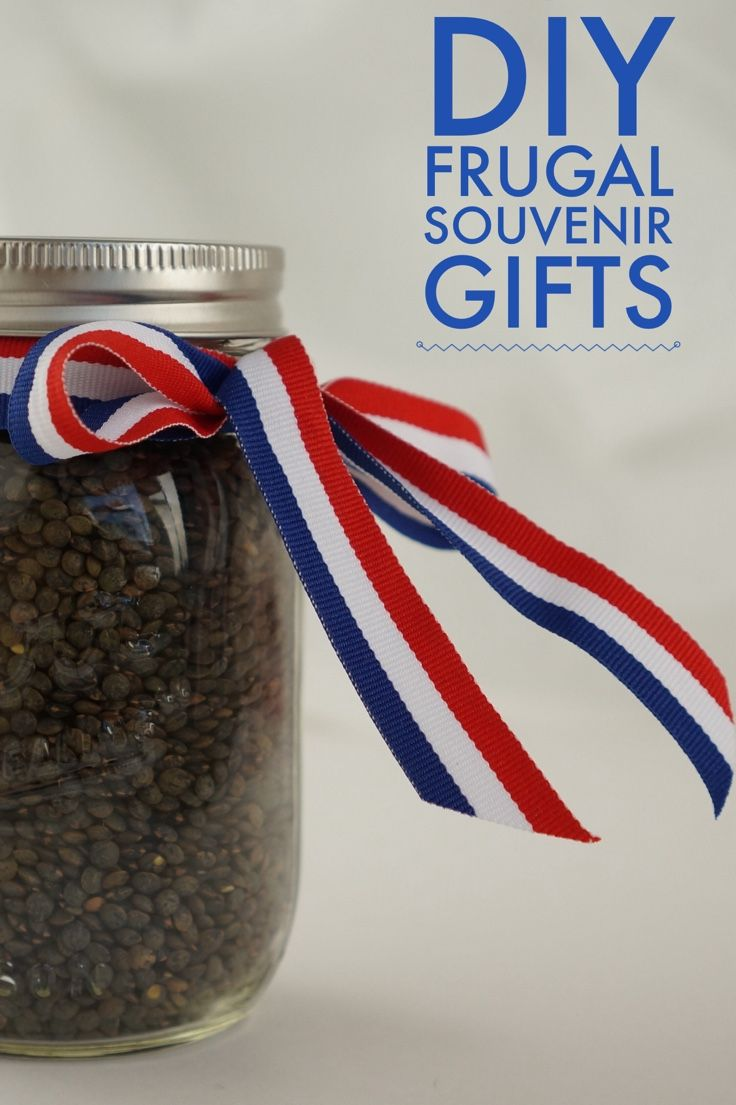 DIY gift ideas from travel souvenirs you pick up on the cheap at supermarkets!