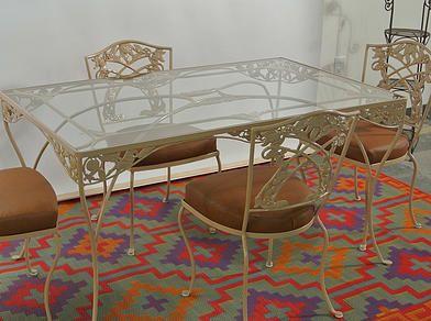O.W. Lee Wrought Iron Furniture