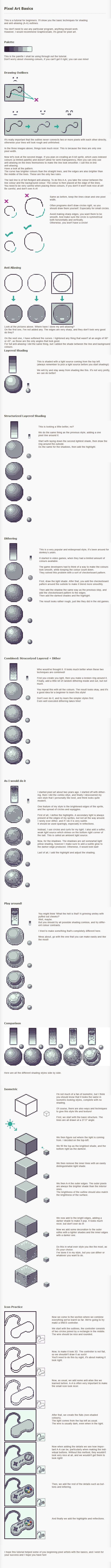 Awesome pixeling tutorial