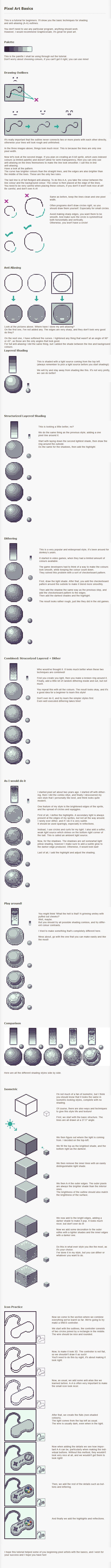 Pixel Art Tutorial - Basics