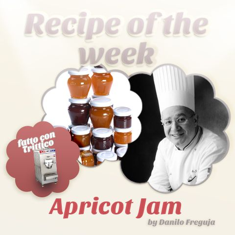 Recipe of the week: 100% artisan #apricot #jam made with #Trittico thanks to Danilo Freguja. Perfect to present into small glass bowl. https://www.facebook.com/BRAVOSPA/photos/a.218288168188180.66026.160418363975161/863757606974563/?type=1&theater