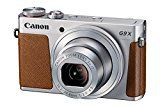 Canon PowerShot G9 X Kompaktkamera (20,2 Megapixel, 7,5 cm (3 Zoll) Display, WLAN, NFC, Image Sync, 1080p, Full HD) silber