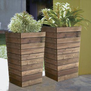 Rectangle Lechuza Balconera Cottage Self-Watering Resin Planter - Planters at…