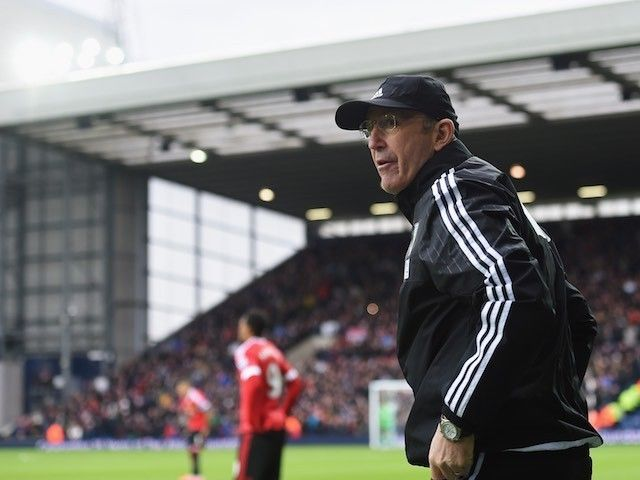 Tony Pulis: 'No contract talks with West Bromwich Albion yet'