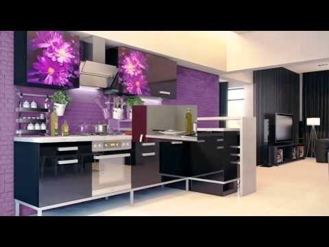 Cozinha roxa - YouTube