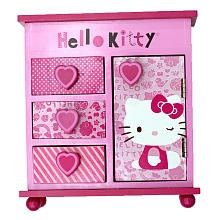 Hello Kitty Armoire Jewelry Box