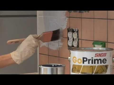 Apprenez comment peindre votre dosseret de cuisine avec Sico.