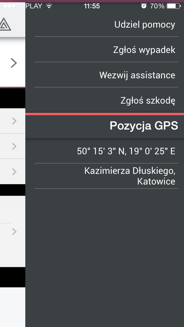 #assistance #menu #accident #GPS #help #firstaid #bmw #dealerapp